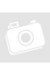 Kerámia kávés bögre kanállal sötétbarna színű. 3dl
