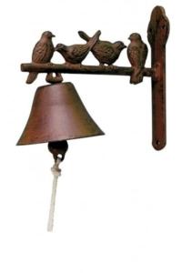 Öntöttvas madaras csengő