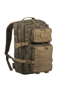 Mil-Tec B06 taktikai hátizsák - zöld/coyote 36 L