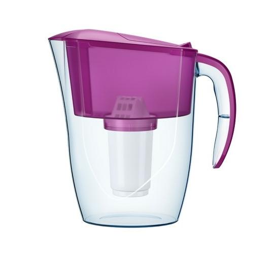 Smile vízszűrő kancsó, lila színben 1 l